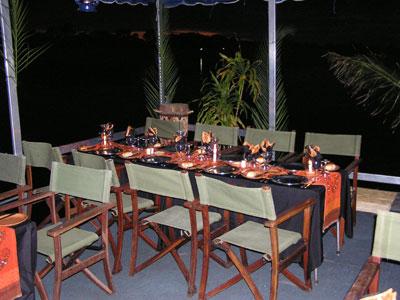 Zambezi dinner cruise