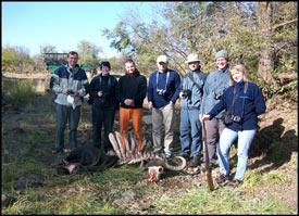 Buffalo Carcass found while on a Walking Safari