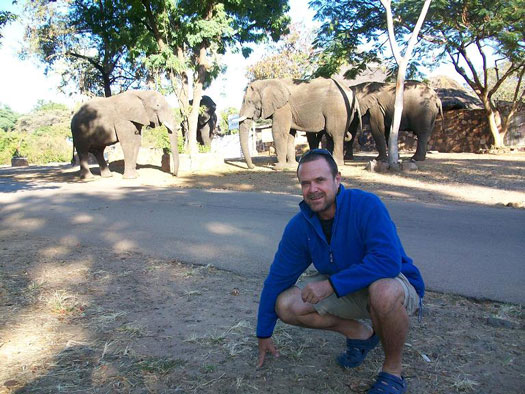 Charles Brightman of Victoria Falls Anti Poaching Unit