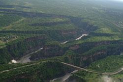 Batoka Gorges below Victoria falls