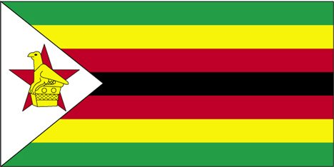Flag of the Republic of Zimbabwe