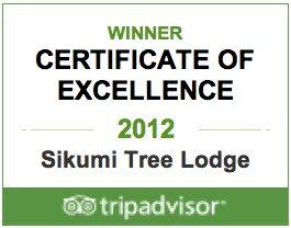 Sikumi trip advisor award