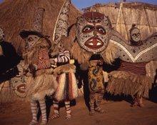 Zimbabwe traditional dancers