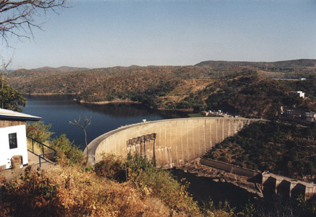 Lake Kariba in Zimbabwe