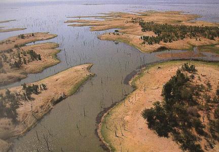 Shores of Lake Kariba Zimbabwe