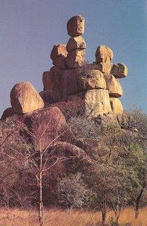 The Matobo Hills  in Zimbabwe