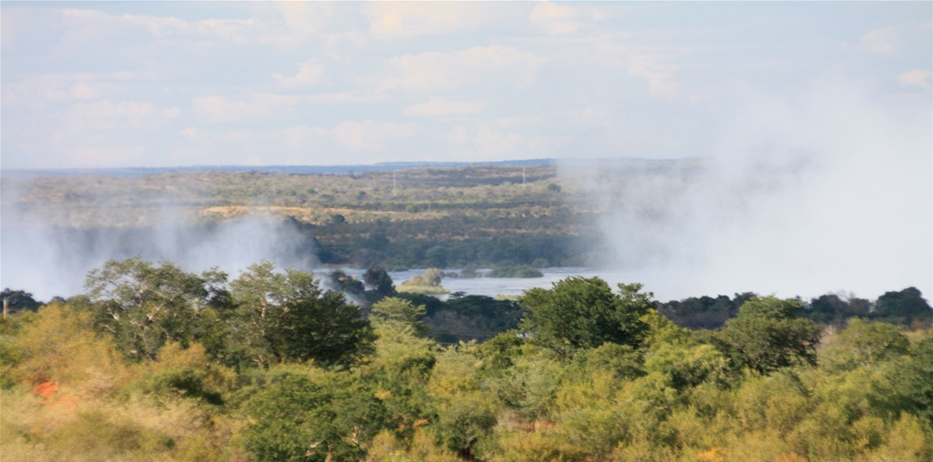 View of the Zambezi River from the property
