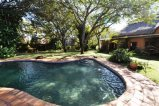 Poolside at 662 Reynard House - self catering and family Victoria Falls accommodation