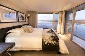 Luxury rooms on the Zambezi Queen