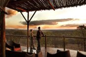 Sweeping views at the luxurious Elephant Camp in Victoria Falls - Zimbabwe
