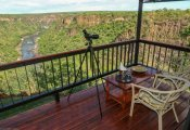 The view from a room at Little Gorges