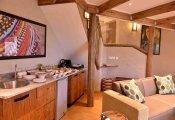 Victoria Falls Safari Suites living space, Victoria Falls, Zimbabwe