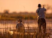 Mokoro ride in the Okavango Delta - Botswana