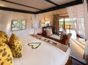 Room with a view at Khwai River Lodge - Botswana