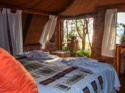 Guest room at Musango Lodge, Lake Kariba