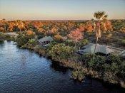 Old Drift Lodge along the Zambezi River - Victoria Falls, Zimbabwe