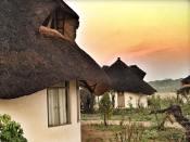 Rondavel Vlei rooms at Sable Sands Lodge - Dete, Hwange, Zimbabwe