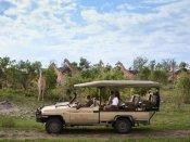 Savute Elephant Camp game drive in the Savute area of Chobe National Park, Botswana