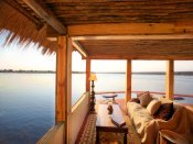 The Hangout - perfect for sundowners - Tongabezi Lodge near Victoria Falls - Zambia