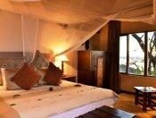 Beautiful rooms at Muchenje Safari lodge but the Chobe River plains - Botswana
