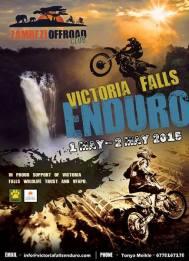 2015 poster for Victoria Falls Fun Enduro event
