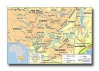 Zambezi River Map