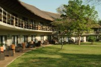 The gardens at A Zambezi Hotel - Victoria Falls Accommodation