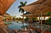 Poolside at Ilala Lodge - Victoria Falls accommodation