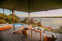 Old Drift Lodge along the Zambezi River - Victoria Falls accommodation