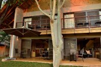 The front of Victoria Falls Safari Suites room - family accommodation in Victoria Falls