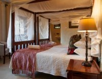 A deluxe room at Bayete Guest lodge in Victoria Falls, Zimbabwe