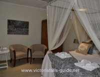 An executive room at Bayete Guest Lodge in Victoria Falls, Zimbabwe