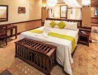 Luxury safari room at Chobe Safari Lodge, Botswana