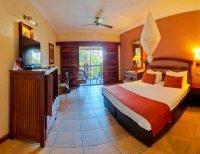 Standard room at the Kingdom Hotel just a few minutes walk from the Victoria Falls, Zimbabwe