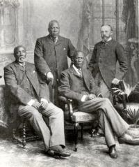 The Batswana leaders in London
