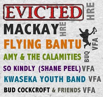 victoria falls music festival elefenst 2016 in victoria falls, zimbabwe