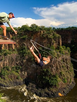 Adrenalin pass discounted package includes Victoria Falls activities gorge swing, flying fox, zipline and canopy tour