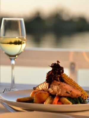 Package a dinner cruise on the Zambezi River with other amazing Victoria Falls activities