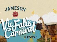 Jameson Victoria Falls Carnival logo - annual event in Victoria Falls