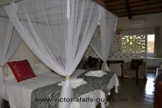 Inside an executive suite at Bayete Guest Lodge - Victoria Falls, Zimbabwe
