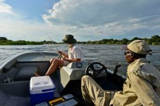 Fishing on the Chobe River - Chobe Princess Houseboat, Namibia