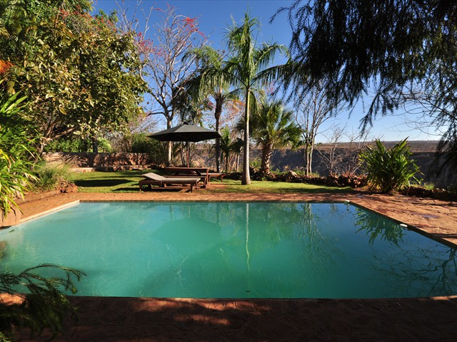 Poolside at Gorges Lodge - Victoria Falls, Zimbabwe