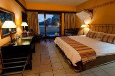 Inside a double room - Hwange Safari Lodge, Zimbabwe