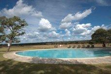 Poolside at Hwange Safari Lodge - Zimbabwe