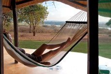 Relaxation at Imbabala Safari Lodge - Zambezi National Park, Victoria Falls, Zimbabwe