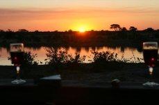Sunset at Kapula Camp in Hwange National Park - Zimbabwe