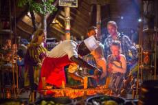 Boma Experience - dinner, drums and more. Victoria Falls activities - Zimbabwe