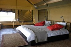 Lovely tented lodging