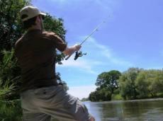 Fishing on the Zambezi River - Victoria Falls, Zimbabwe