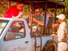 Ivory Lodge game drive in Hwange, Zimbabwe